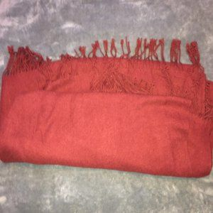 Love & Lore red scarf